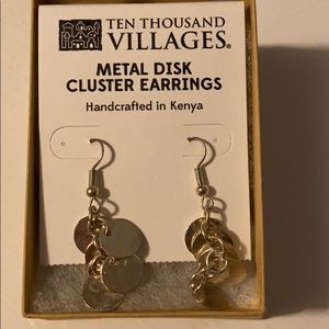 Handcrafted Earrings, Brand New
